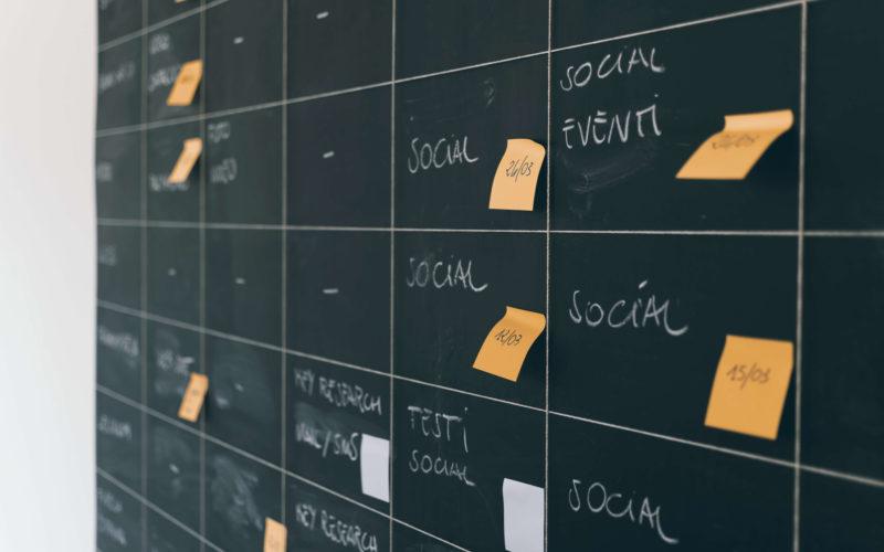 organisation, emploi du temps, contenu